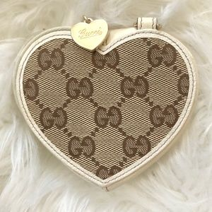 Gucci Heart Coin Purse